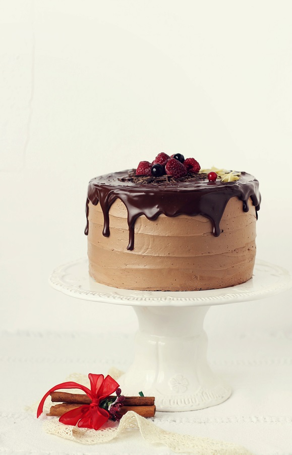 tort cu ciocolata si portocala
