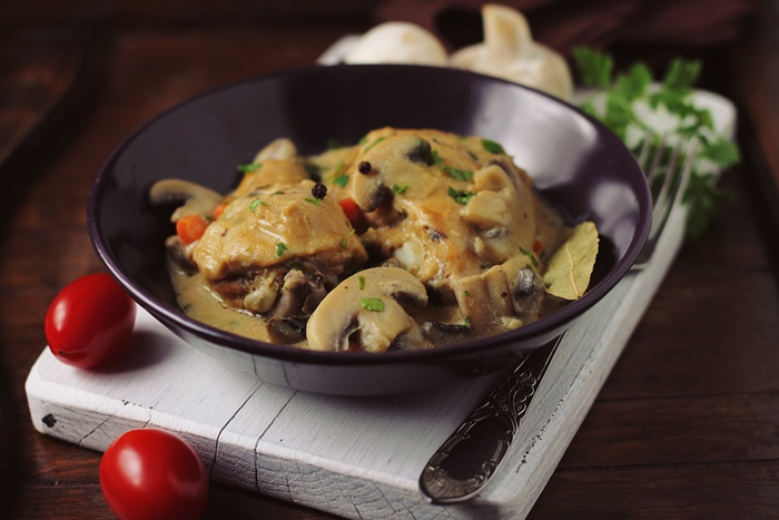 Pui Fricassee