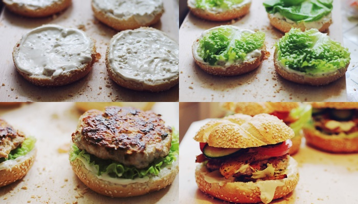 burgeri de curcan