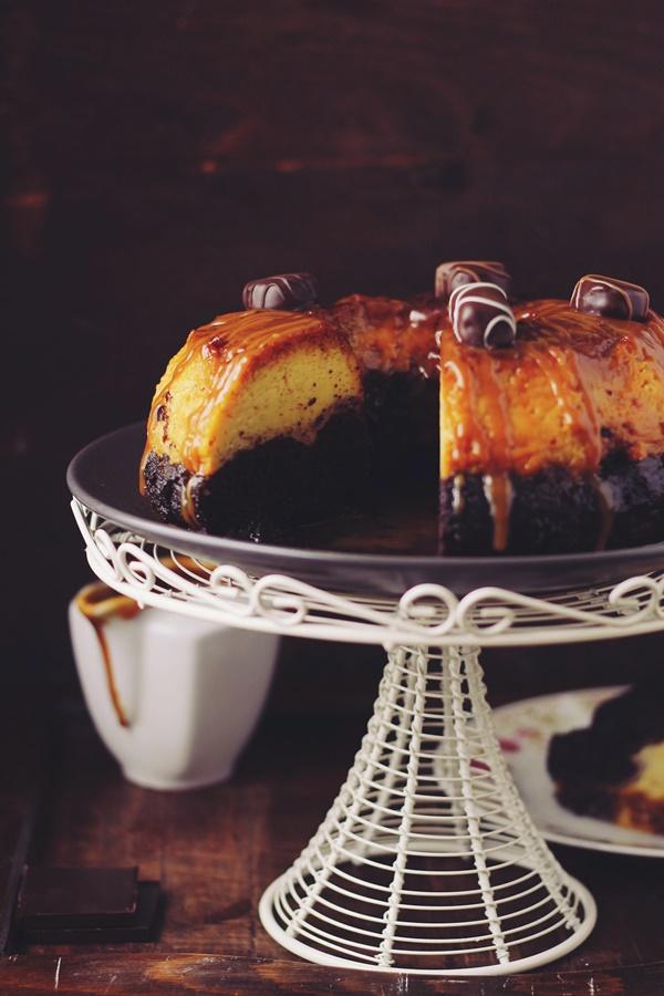 Tort de zahar ars cu ciocolata